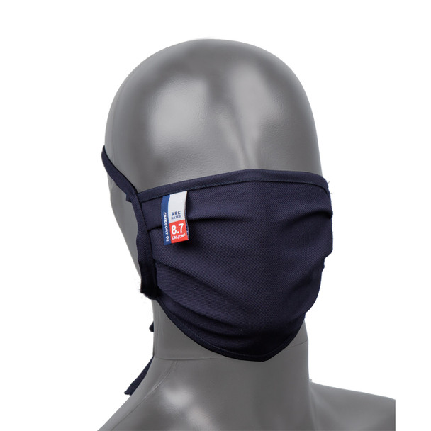 Big Bill FR Made in USA 7oz Navy Westex Ultrasoft Face Masks MASK7 - Box of 50