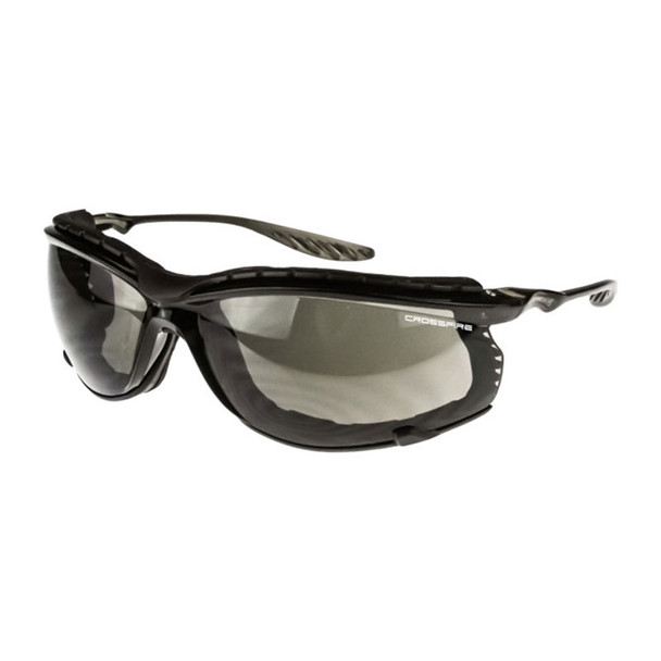 Crossfire 24Seven Foam Lined Smoke Anti-Fog Safety Glasses 3841 - Box of 12