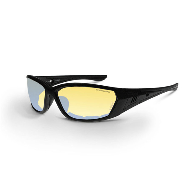 Crossfire 710 Black Frame Indoor Outdoor Anti-Fog Safety Glasses 35231 - Box of 12