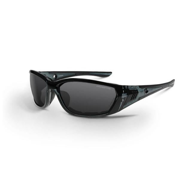 Crossfire 710 Black Frame Smoke Lens Anti-Fog Safety Glasses 3541 - Box of 12