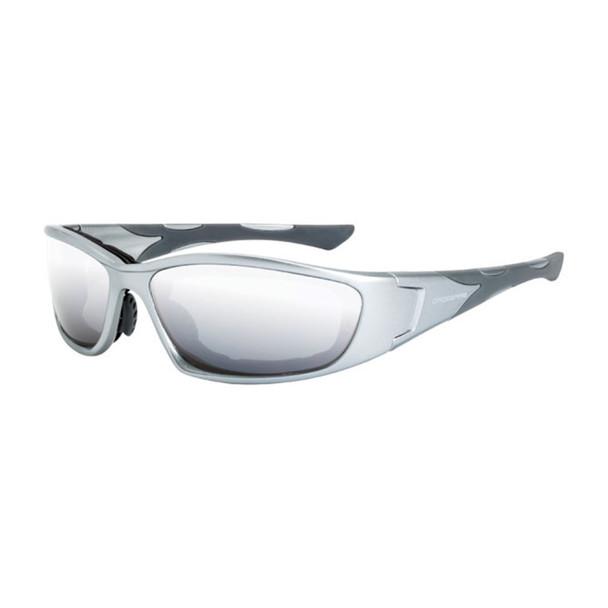 Crossfire MP7 Foam Lined Gray Frame IO Anti-Fog Safety Glasses 24615AF