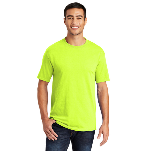 Port and Company Non-ANSI Hi Vis T-Shirt PC55 Safety Green