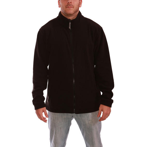 Tingley Phase 1 Black Collared Jacket J72003 Front