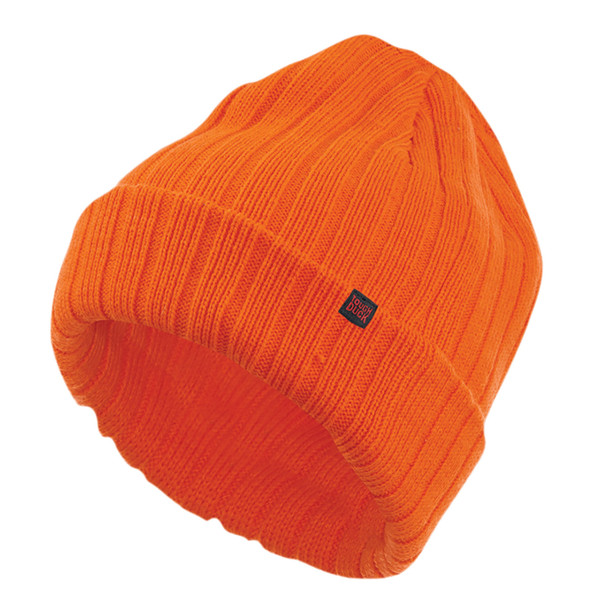 Tough Duck Chunky Knit Orange Watch Cap i45916