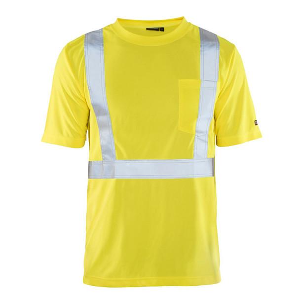 Blaklader Class 2 Hi Vis Crew Neck T-Shirt with UV 50 Portection 348610113300