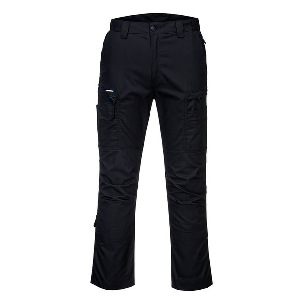PortWest KX3 Ripstop Stretch Pants T802 Black Front