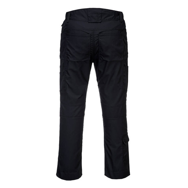 PortWest KX3 Ripstop Stretch Pants T802 Black Back