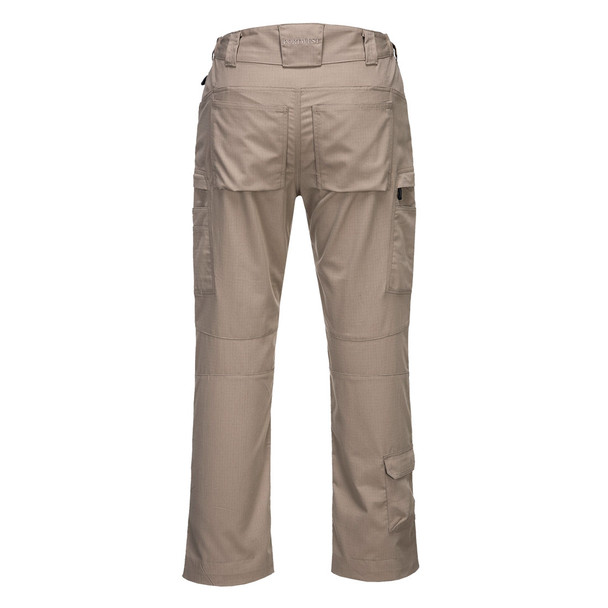 PortWest KX3 Ripstop Stretch Pants T802 Safari Back