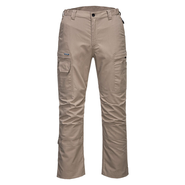 PortWest KX3 Ripstop Stretch Pants T802 Safari Front