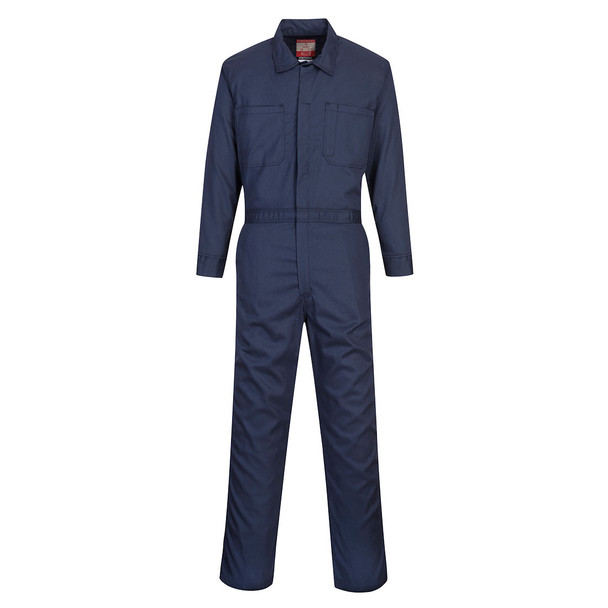 PortWest FR Bizflame Classic Navy Coverall UFR87 Front