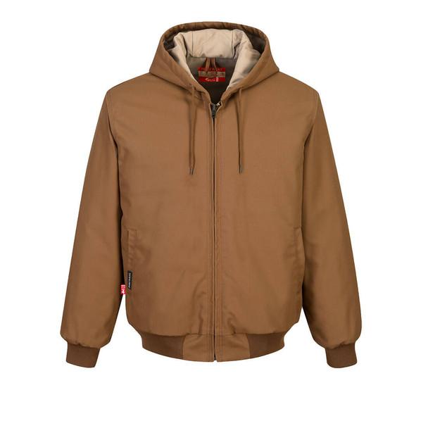 PortWest FR Duck Quilt Lined Jacket UFR48 Front