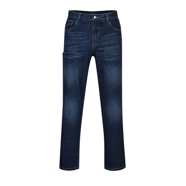 PortWest FR Stretch Indigo Denim Jeans FR54 Front