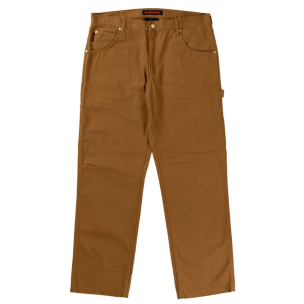 Tough Duck Washed Duck Pant WP02 Brown Front