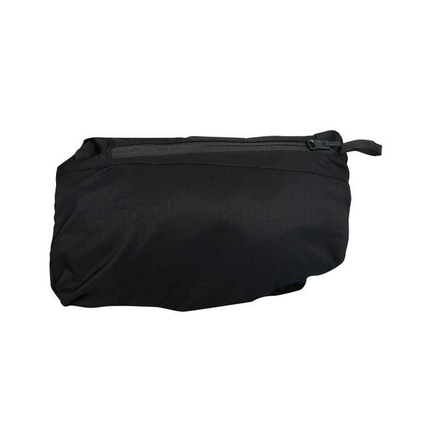 DeWALT Class 1 Enhanced Visibility Two-Tone Segmented Reflective Black Rain Jacket DRW11 Packable