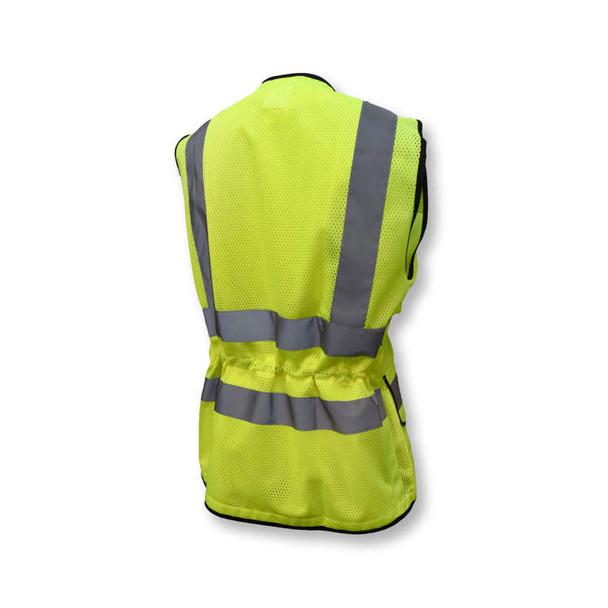 Radians Class 2 Hi Vis Ladies Safety Vest SV59W-2 Green Back