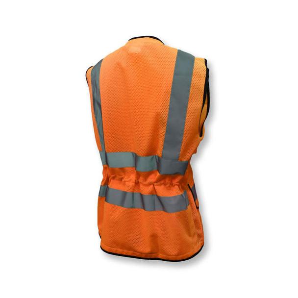 Radians Class 2 Hi Vis Ladies Safety Vest SV59W-2 Orange Back