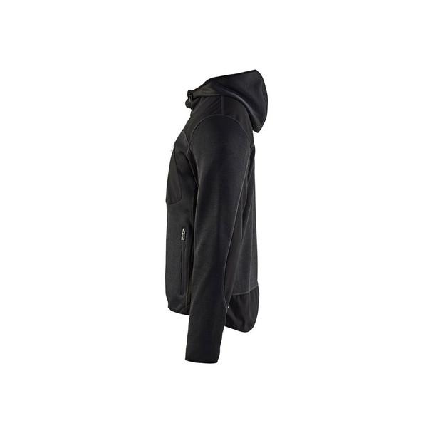 Blaklader US Knitted Jacket 4940211797999799 Dark Grey Left