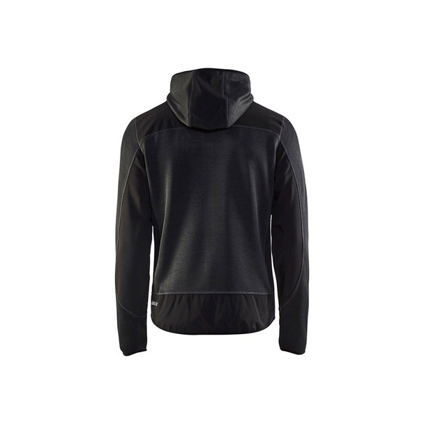 Blaklader US Knitted Jacket 4940211797999799 Dark Grey Back