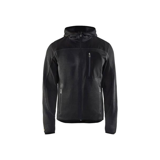 Blaklader US Knitted Jacket 494021179799 Dark Grey Front