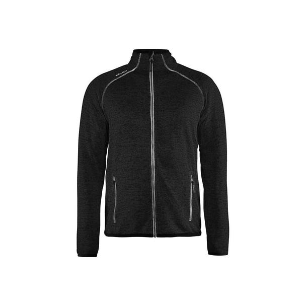 Blaklader Knitted Jacket 496521179710 Antracit Grey Front