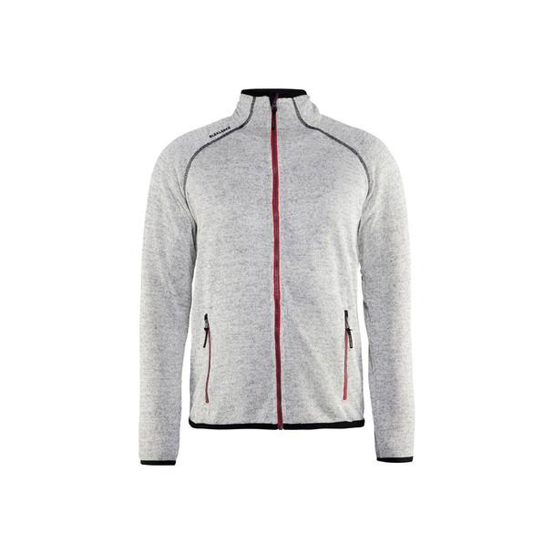 Blaklader Knitted Jacket 496521179056 Grey Front