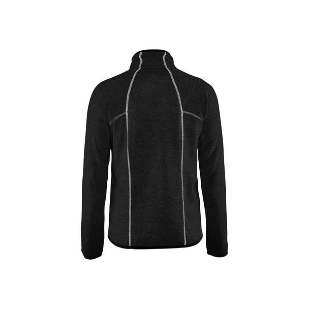 Blaklader Knitted Jacket 496521179710 Antracit Grey Back
