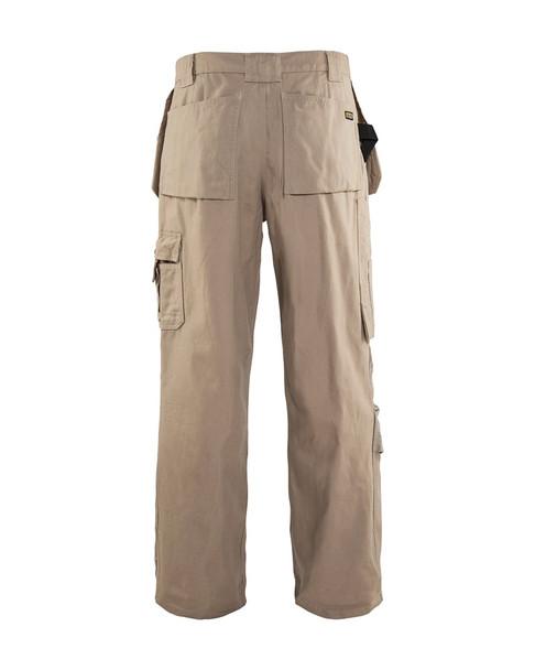 Blaklader Craftsman Bantam 8 oz. Work Pants 163013102700 Stone Back