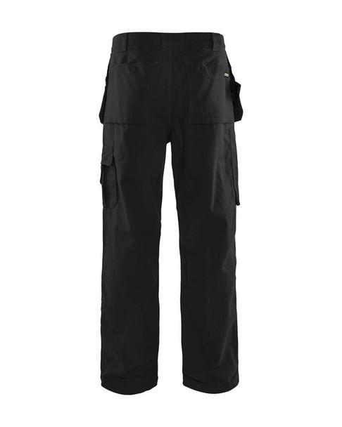 Blaklader Craftsman Bantam 8 oz. Work Pants 163013109900 Black Back
