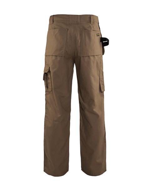 Blaklader Craftsman Bantam 8 oz. Work Pants 163013102800 Antique Khaki Back