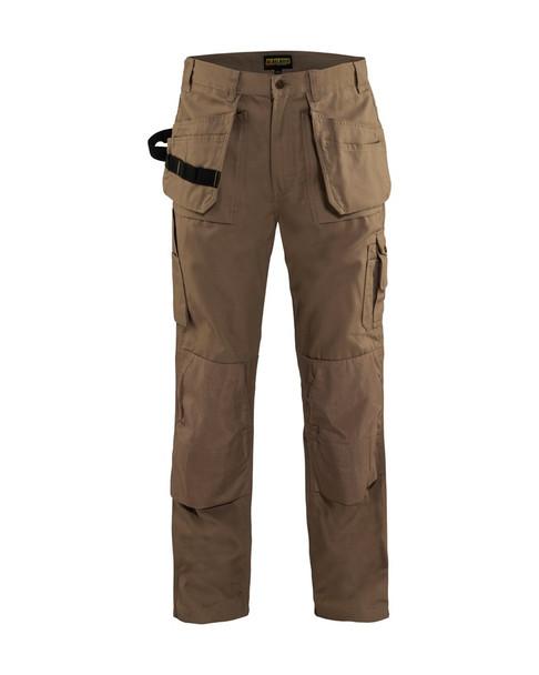 Blaklader Craftsman Bantam 8 oz. Work Pants 163013102800 Antique Khaki Front