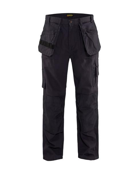 Blaklader Craftsman Bantam 8 oz. Work Pants 163013108300 Steel Blue Front