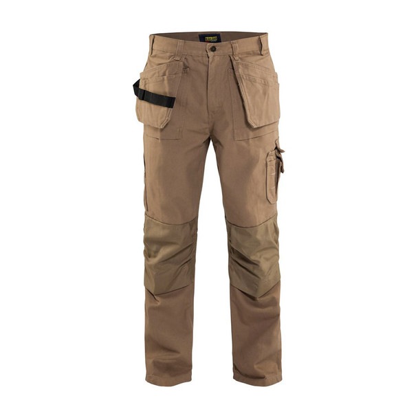 Blaklader Craftsmen Brawny 12oz. Work Pants 163013202800 Antique Khaki Front