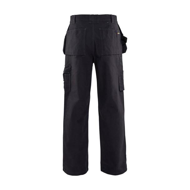 Blaklader Craftsmen Brawny 12oz. Work Pants 163013208300 Steel Blue Back