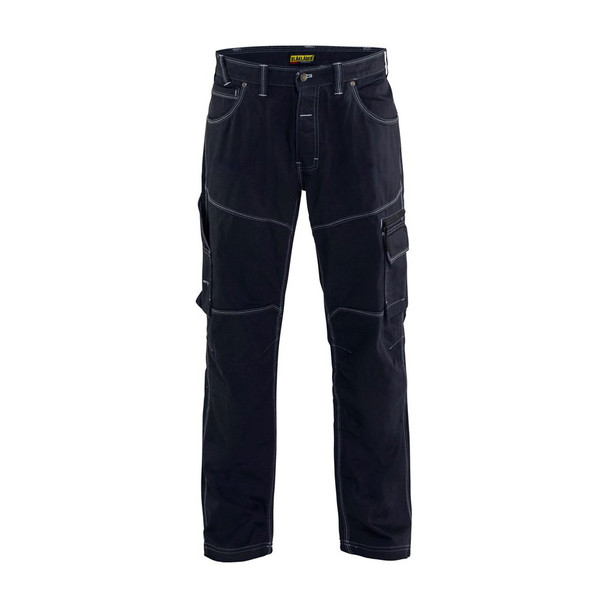 Blaklader Cordura Denim Pants 165911408900 Navy Blue Front