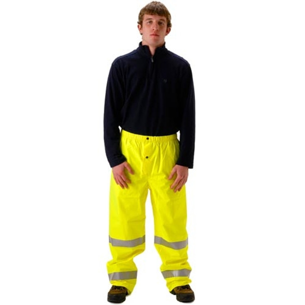 NASCO Class E Hi Vis Yellow Envisage Rain Pants 101PFY