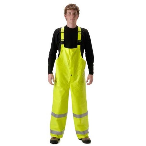 NASCO FR Class E Hi Vis ArcLite High Visibility Bib Trouser 1501TF Yellow