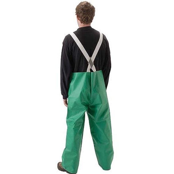 NASCO ASTM D6413 AcidBasic Chemical Handling Industrial Bib Trouser 52TG Back