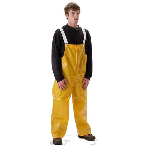 NASCO ASTM D751 WorkHard Waterproof Bib Trouser 61TSY Front
