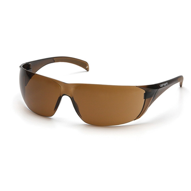 Carhartt Box of 12 Billings Bronze Sandstone Lens Safety Glasses CH118S