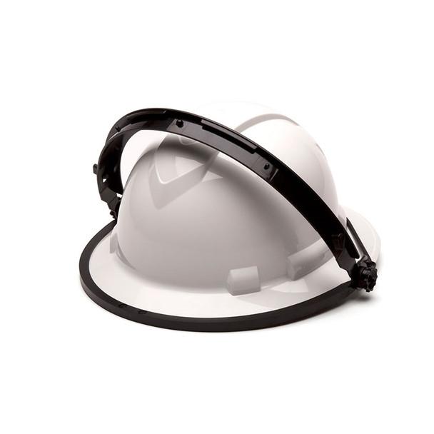 Pyramex Full Brim Hard Hat Face Shield Adapter HHABW