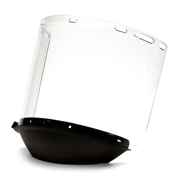 Pyramex Made in USA Face Shield S1210CC with CHICUP