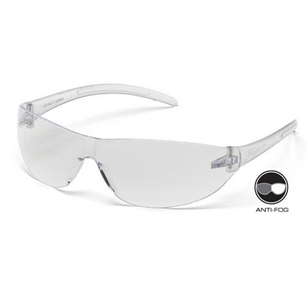Box of 12 Pyramex Alair Anti-Fog Clear Lens Safety Glasses S3210ST