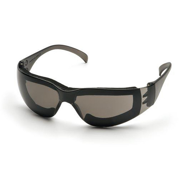Pyramex Intruder Safety Glasses Gray Anti Fog Padded Lens S4120STFP