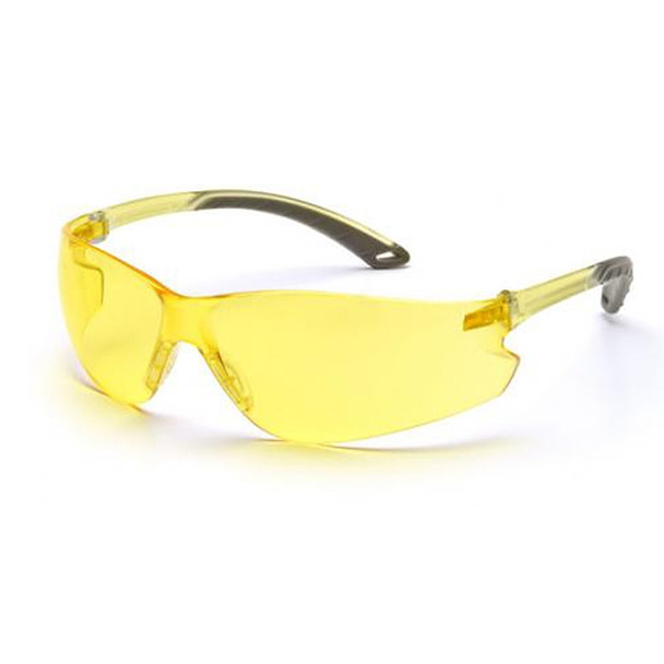 Pyramex Intruder Safety Glasses Amber Lens S4130S