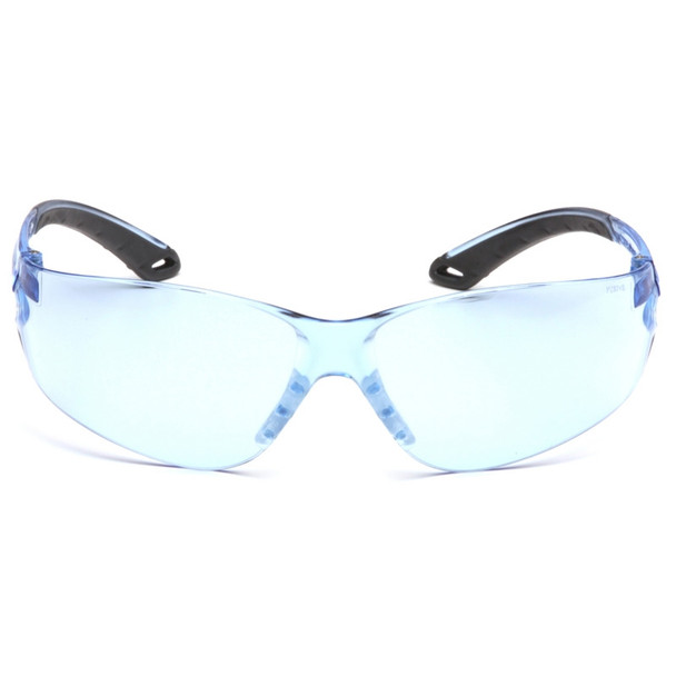 Box of 12 Pyramex Itek Infinity Blue Lens Safety Glasses S5860S Front