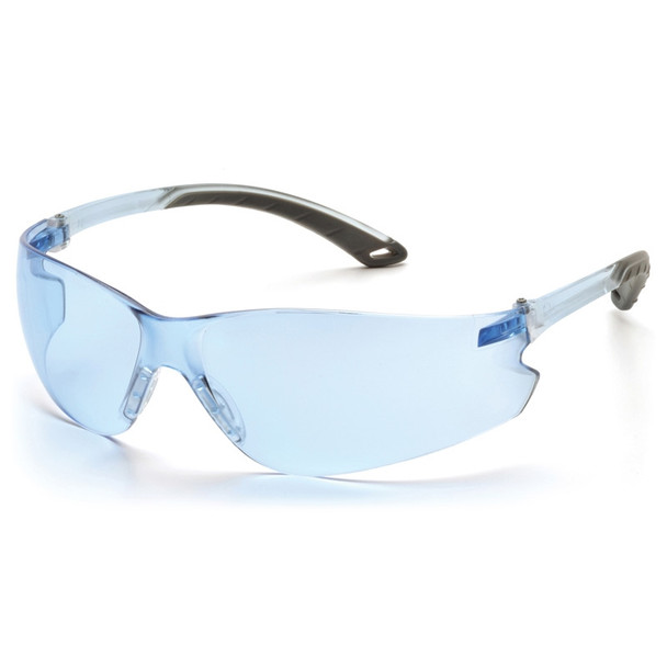 Box of 12 Pyramex Itek Infinity Blue Lens Safety Glasses S5860S Side