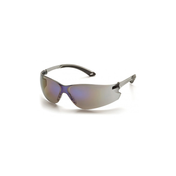Pyramex Itek Blue Mirror Safety Glasses - Box of 12