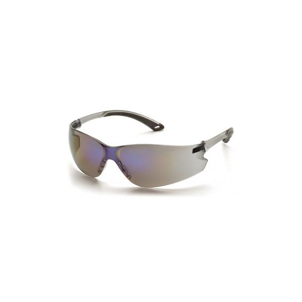 Pyramex Itek Blue Mirror Safety Glasses - Box of 12