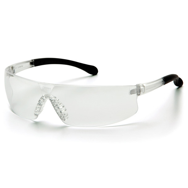 Box of 12 Pyramex Provoq Clear Lens Safety Glasses S7210S Side