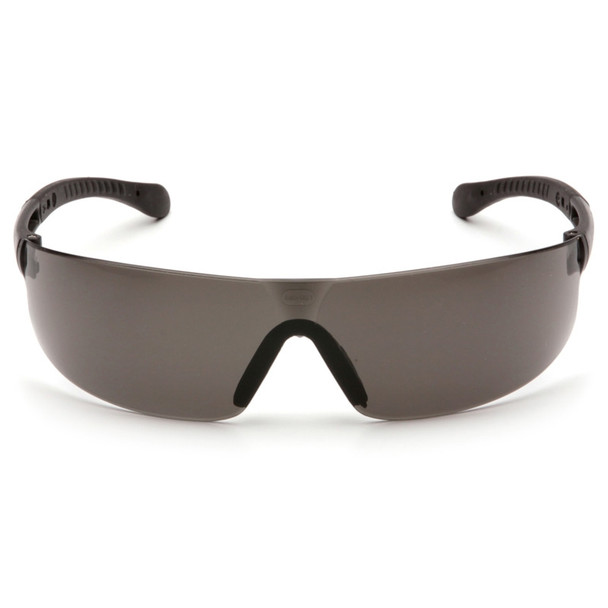 Box of 12 Pyramex Provoq Gray Lens Safety Glasses S7220S Front
